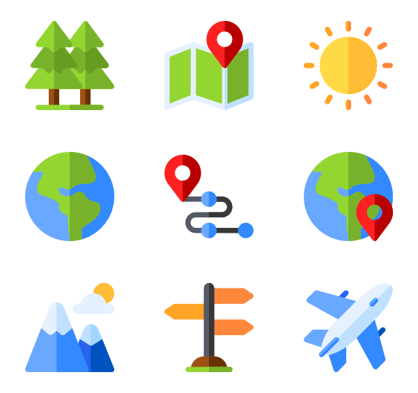 geography icon packs. Planets clipart adobe illustrator