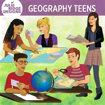 Geography clipart study student. Teen students clip art