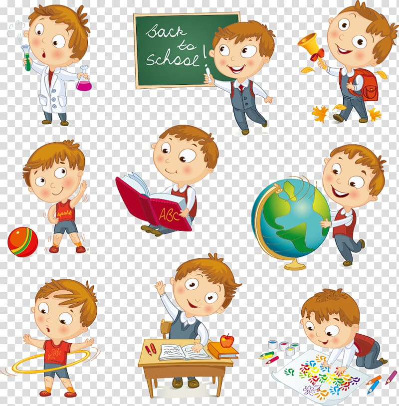 Group of children in. Geography clipart study student