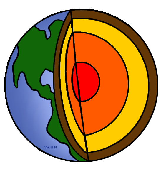 Earth science clip art. Geology clipart