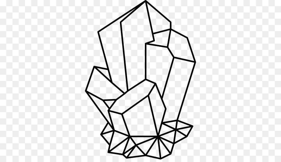 Triangle drawing hand transparent. Geology clipart black and white