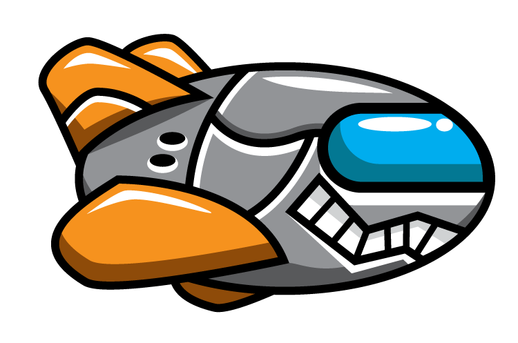 Free collection download and. Spaceship clipart enemy
