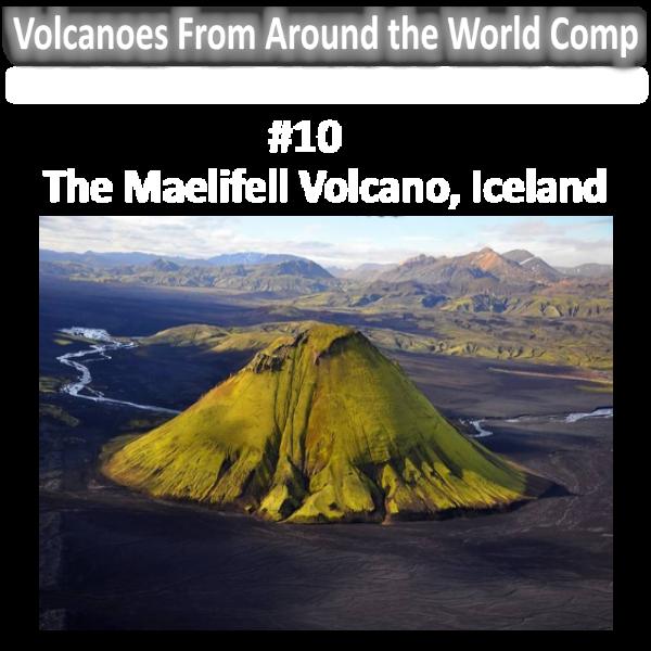 Top ten volcanoes comp. Glacier clipart tall mountain