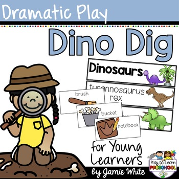 Geology clipart fossil dig. Dinosaur dramatic play