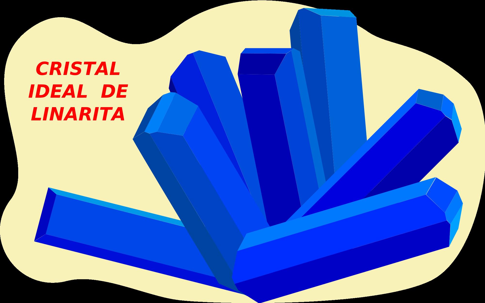 File linarita svg wikimedia. Geology clipart mineralogist