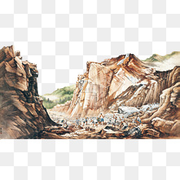 Move the mountain png. Geology clipart moves free