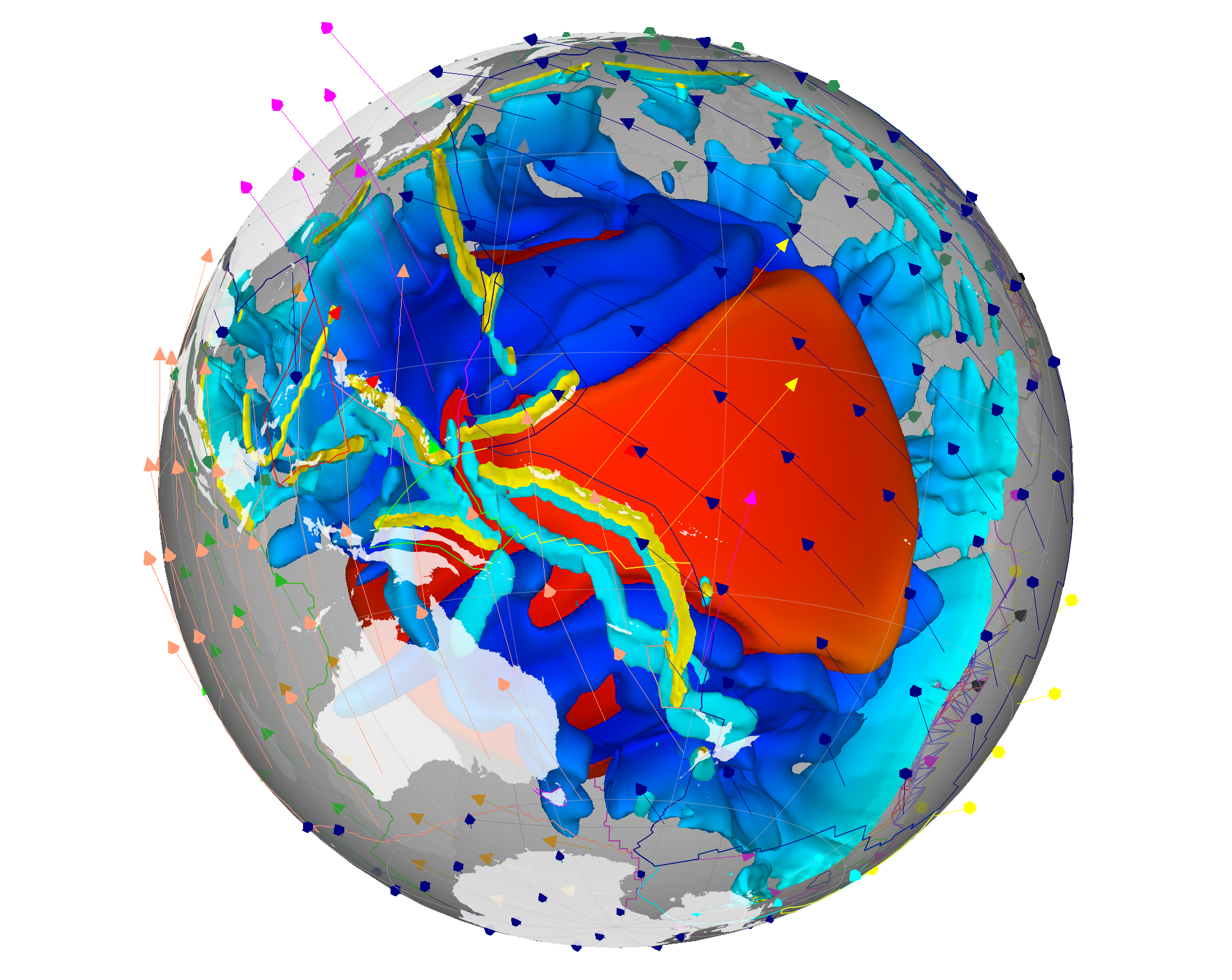 Gplates resources earthbyte is. Geology clipart plate tectonic