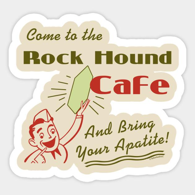 Rock hound cafe by. Geology clipart rockhound