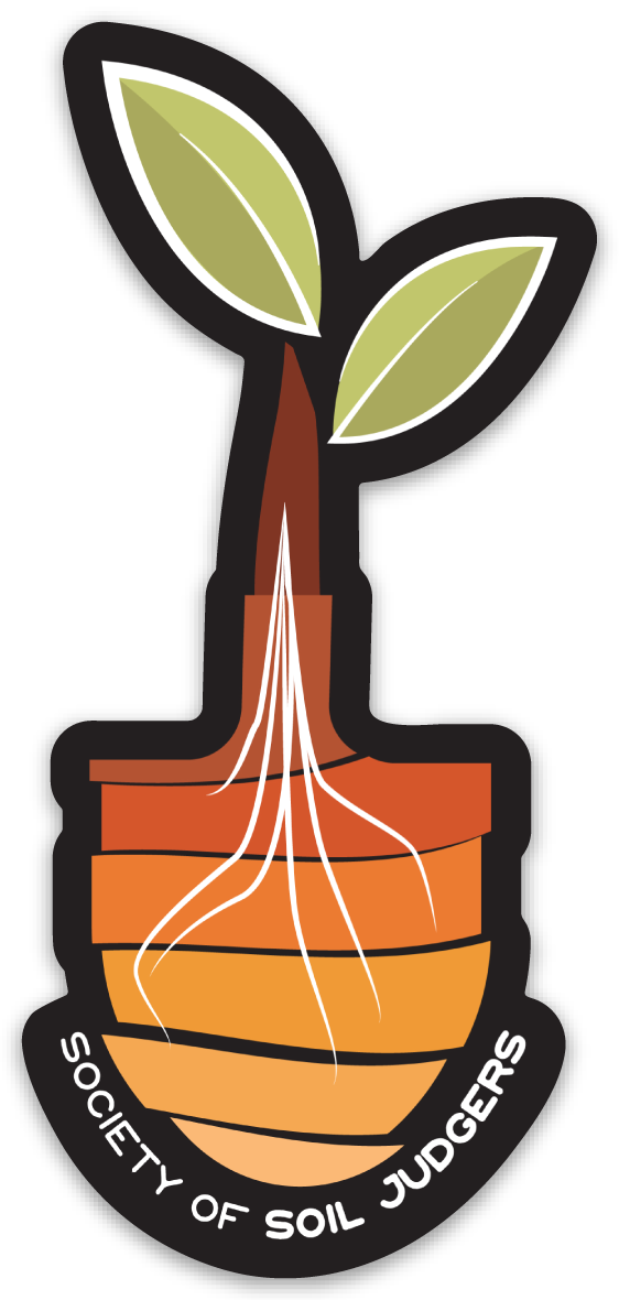 What is judging society. Geology clipart soil formation