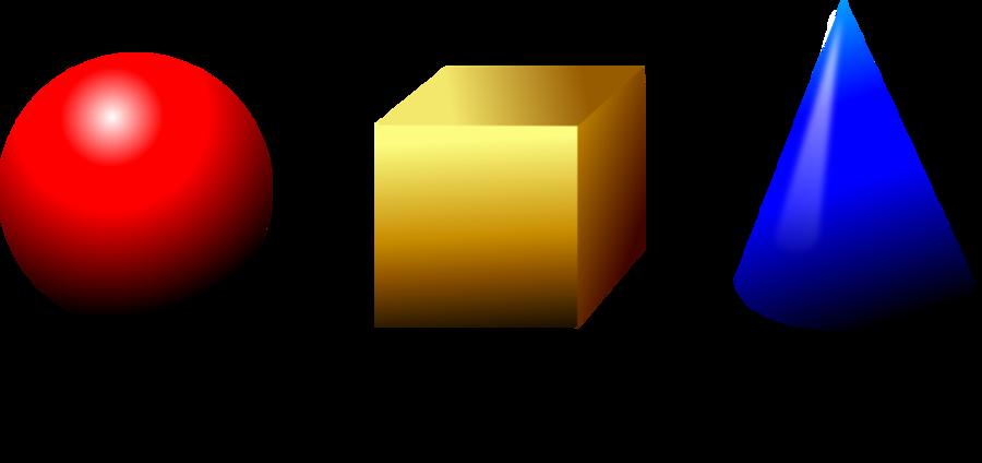 Geometric background . Geometry clipart 3d shape
