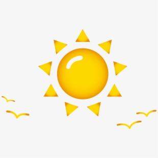 Clip art sun pattern. Geometry clipart cartoon