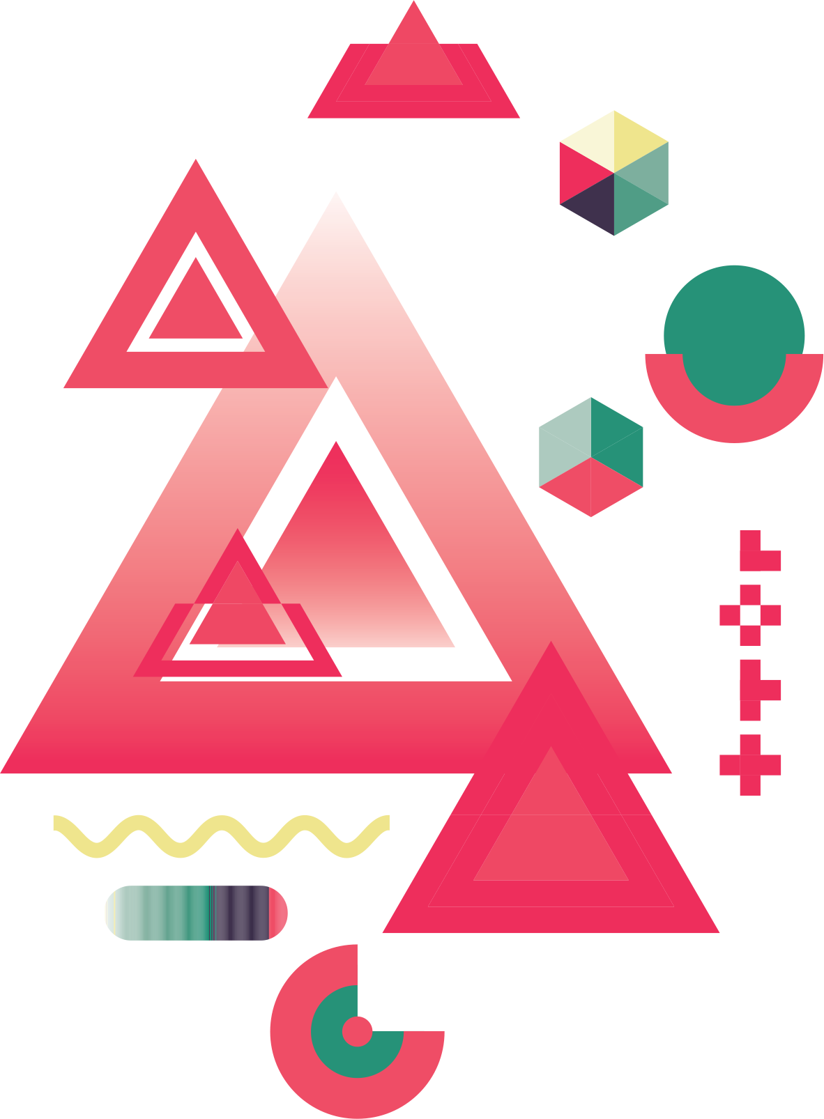 Geometry abstraction poster abstract. Triangular clipart geometric shape