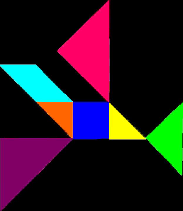 Geometry colored shape