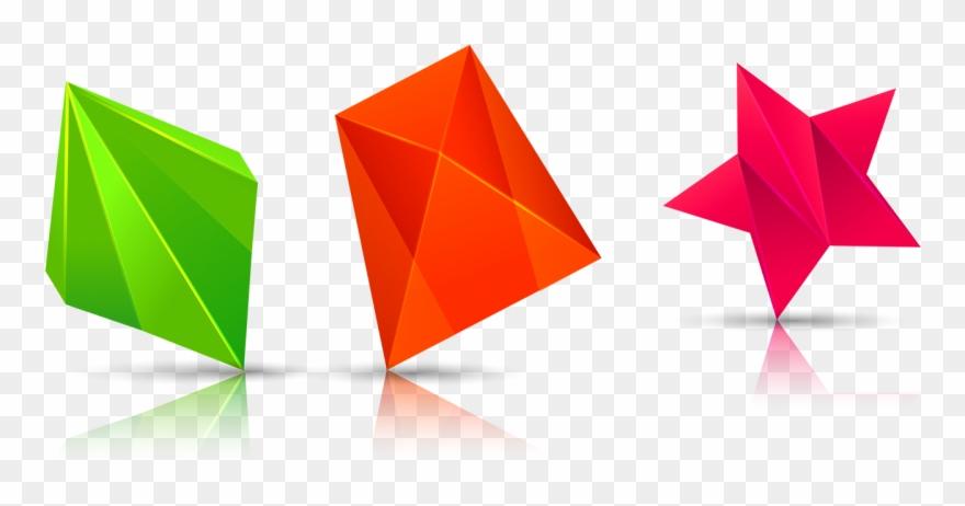 Geometry clipart colorful shape. Plot pinclipart