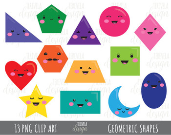 Geometry clipart cute.  sale geometric shapes