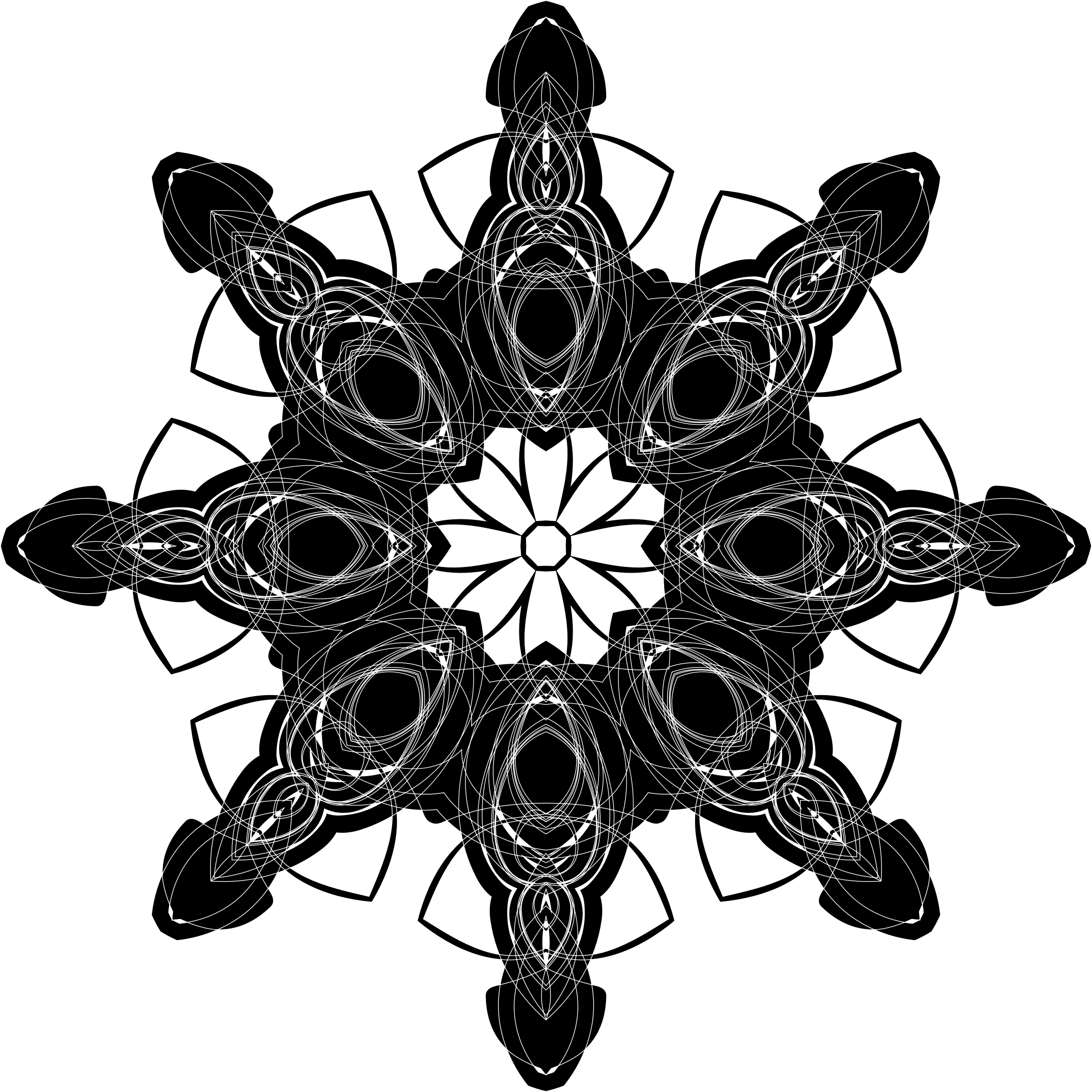 Inverse geometric silhouette big. Geometry clipart geometry tool