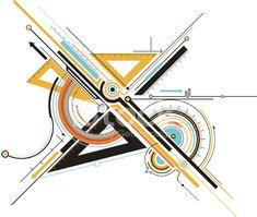Tools stock vectors me. Geometry clipart geometry tool