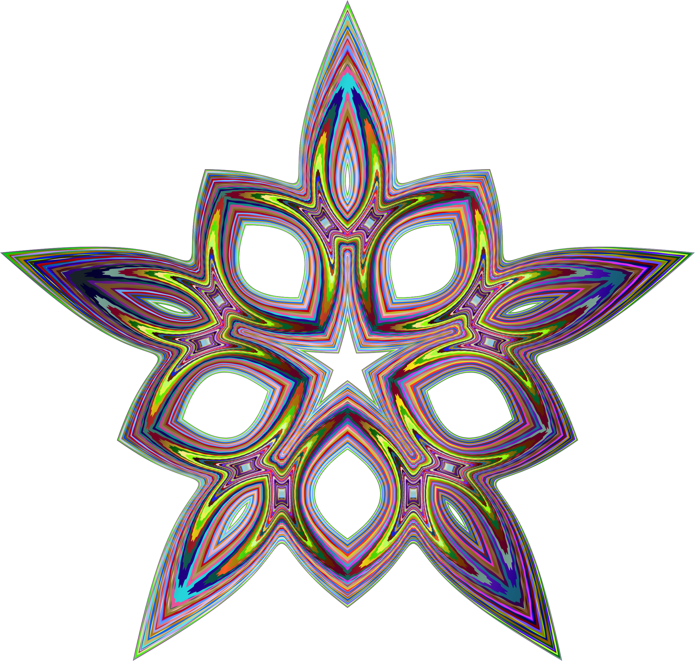 Psychedelic icons png free. Geometry clipart icon
