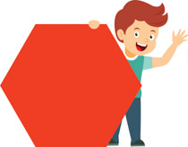 Geometry clipart kid. Free shapes clip art