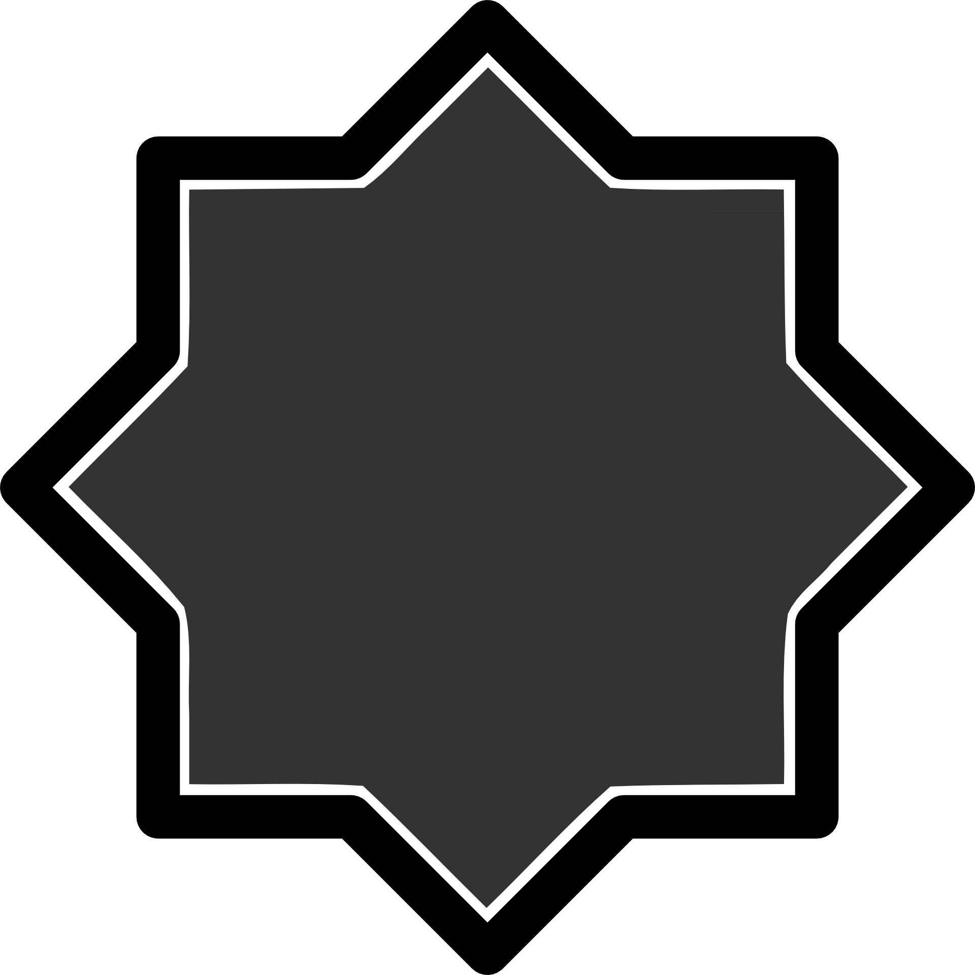 Islamic geometric patterns symbols. Geometry clipart line angle