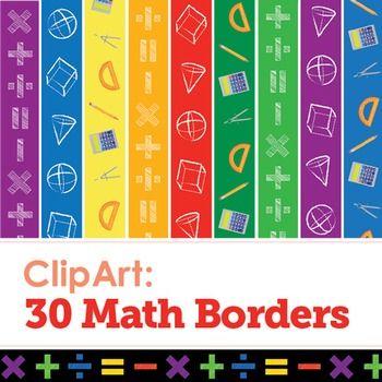 Geometry clipart math lab. Clip art borders classroom