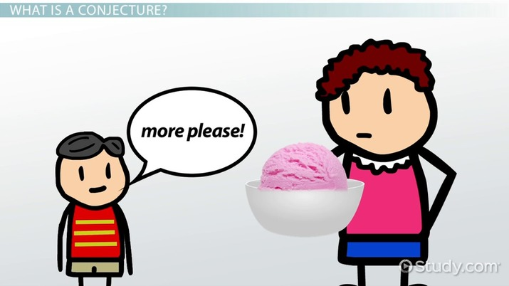 In math definition example. Psychology clipart conjecture