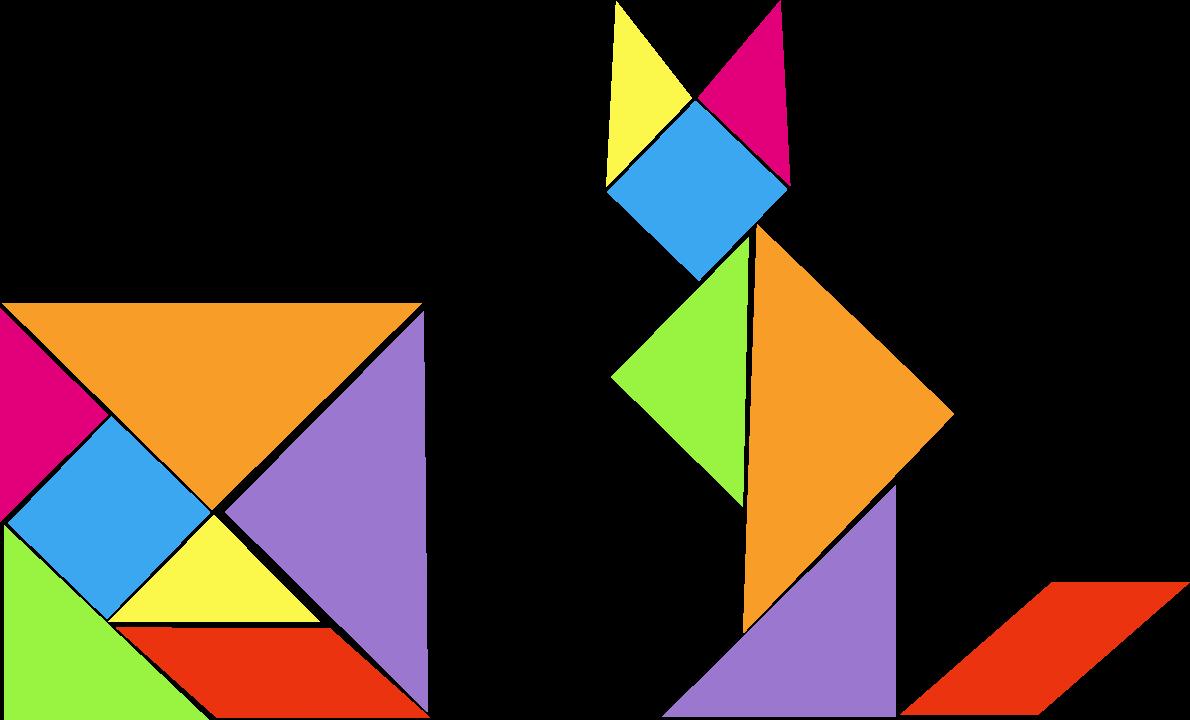 triangular clipart 2d shape