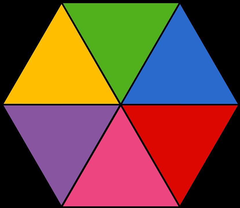 Geometry clipart preschool shape. Geometric shapes hexagon aks