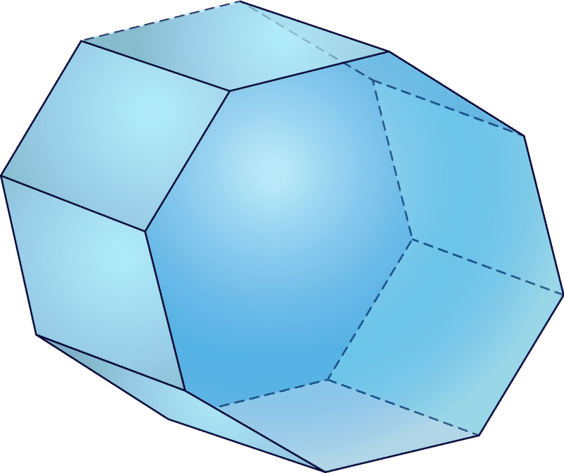 Geometry clipart solid figure. Faces edges and vertices
