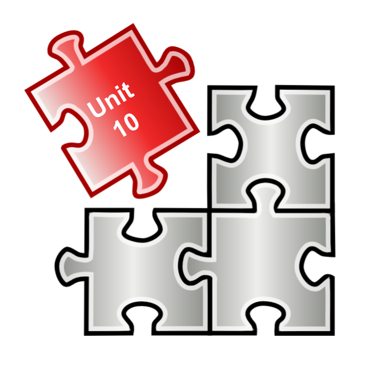Geometry picture. Puzzle clipart coordination