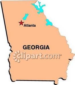 Georgia clipart atlanta. Royalty free picture