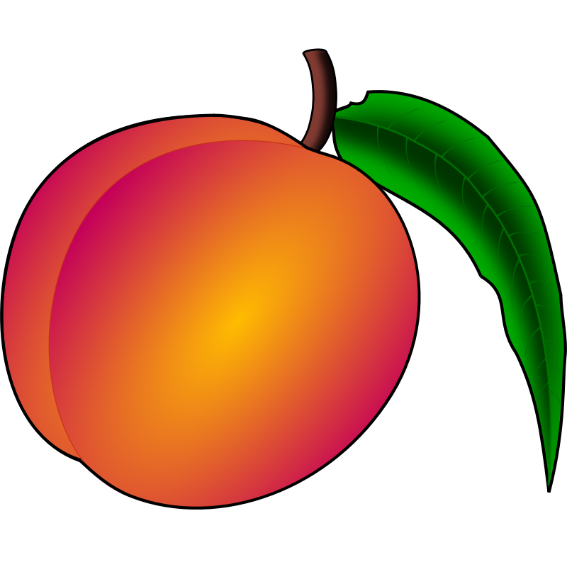 Peach county clip art. Georgia clipart fruit