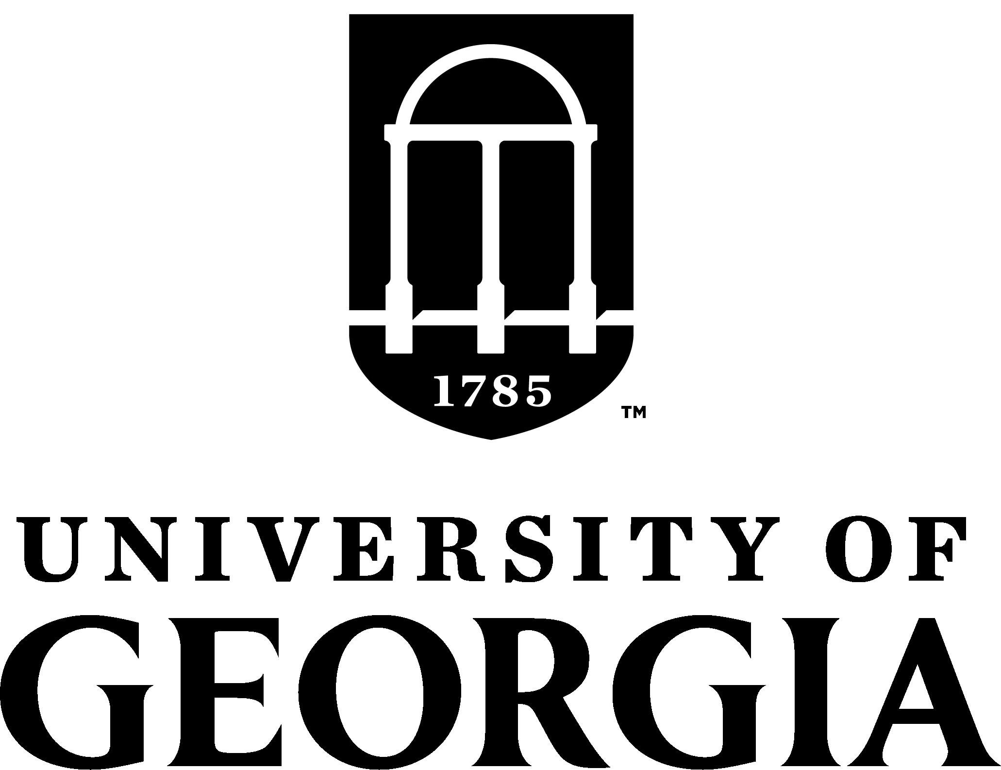 University logos and marks. Georgia clipart ga state