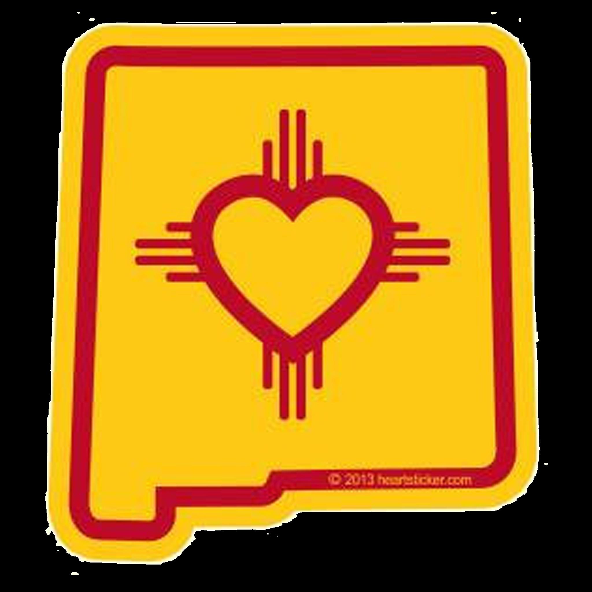 Georgia clipart sticker. Heart in new mexico