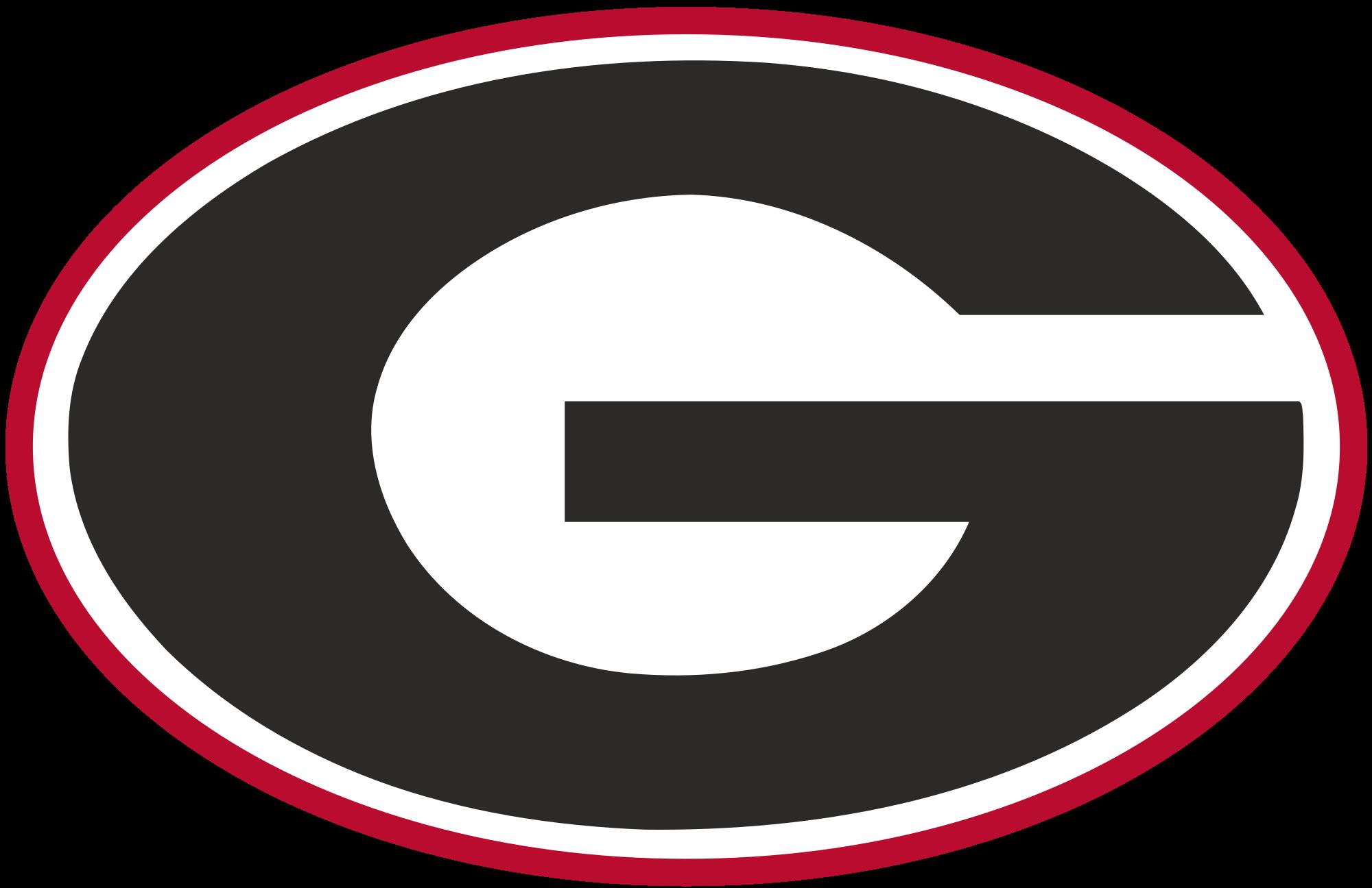 Georgia clipart template. File athletics logo svg