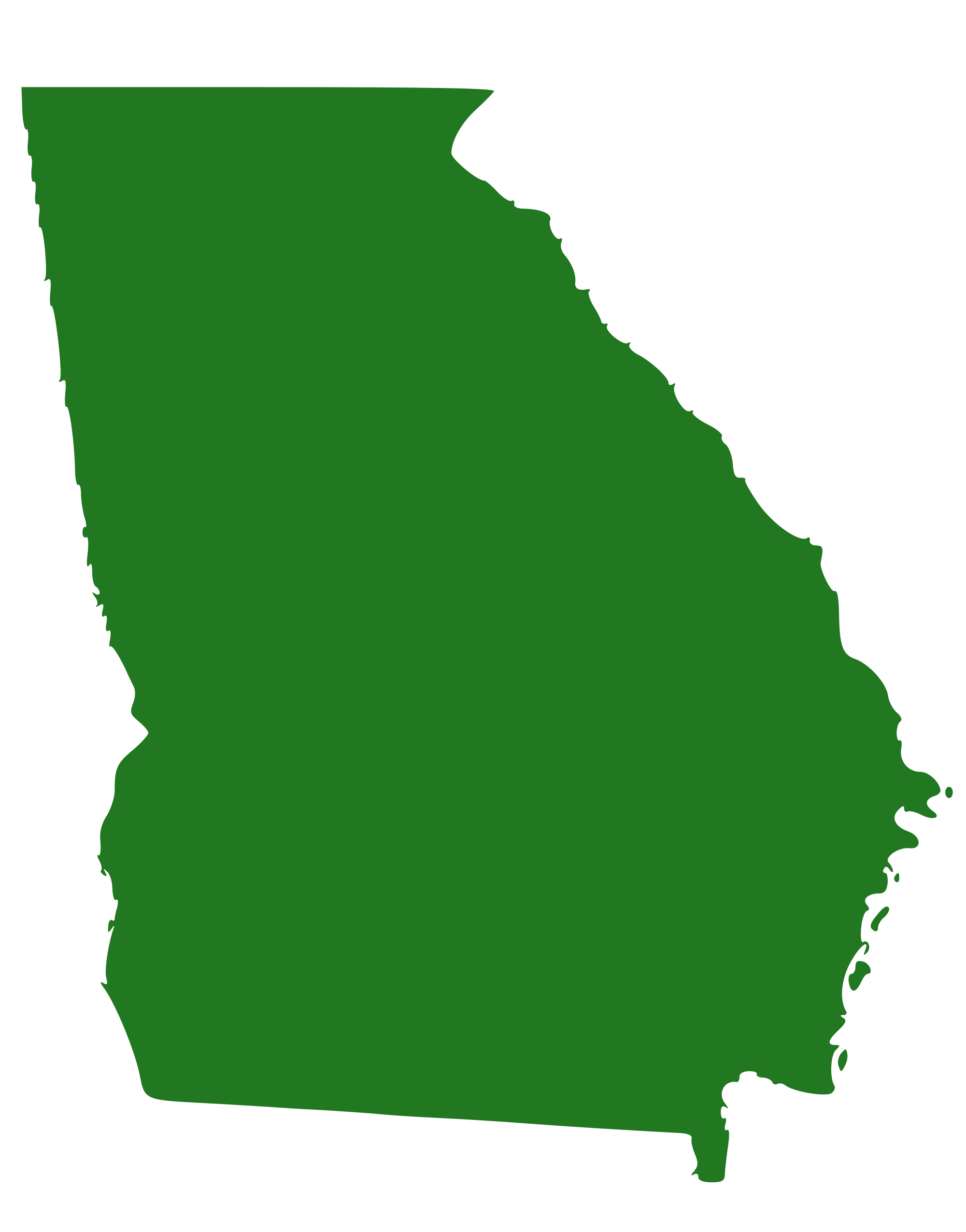 State of travel . Georgia clipart vector