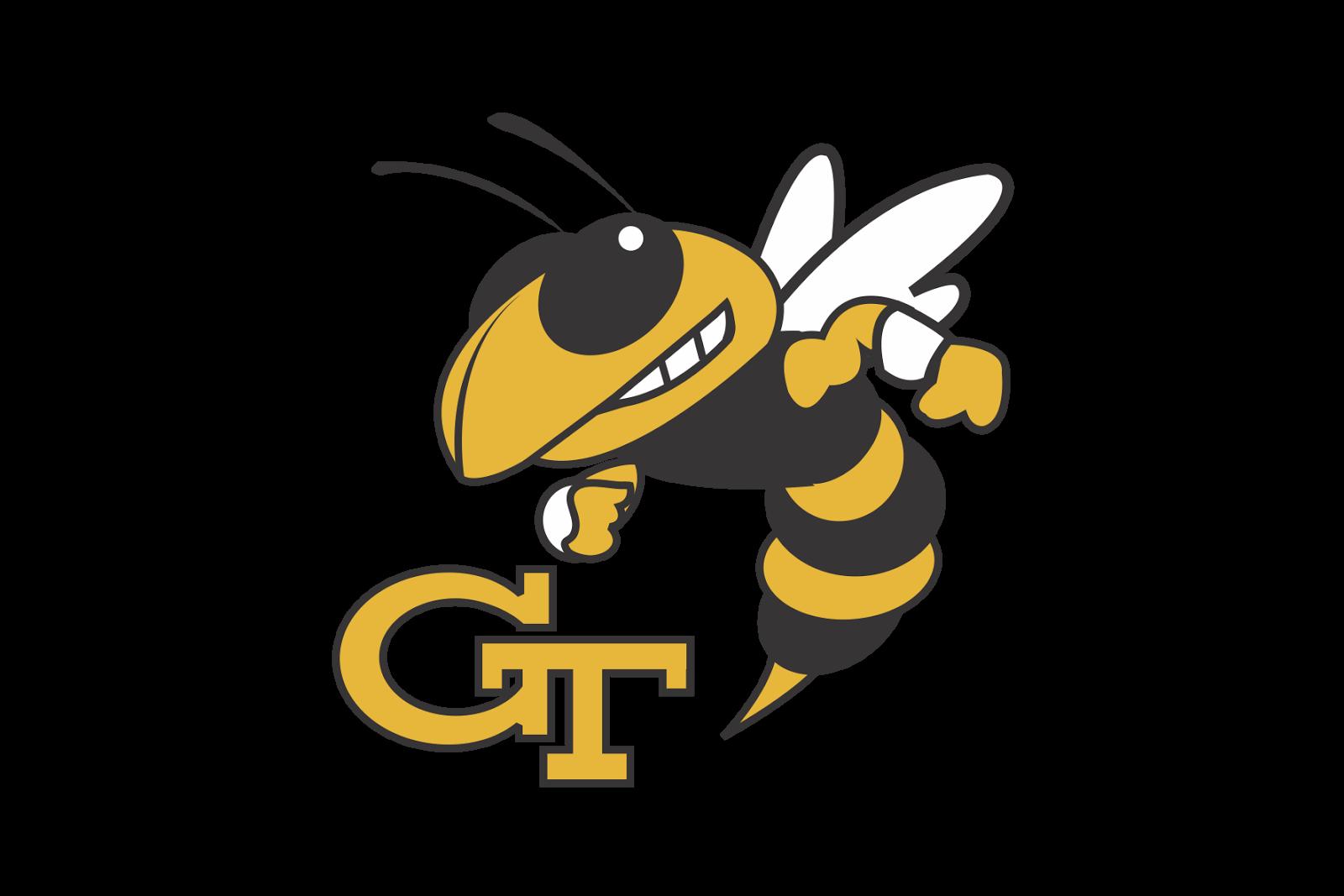 Tech logos yellowjackets logo. Georgia clipart vector
