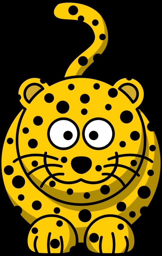 Studiofibonacci cartoon leopard images. Germ clipart animated