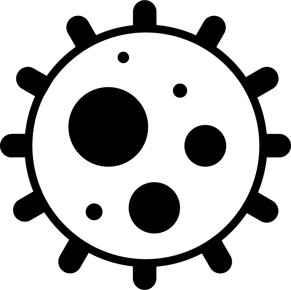 Germ clipart border. Germs svg png icon