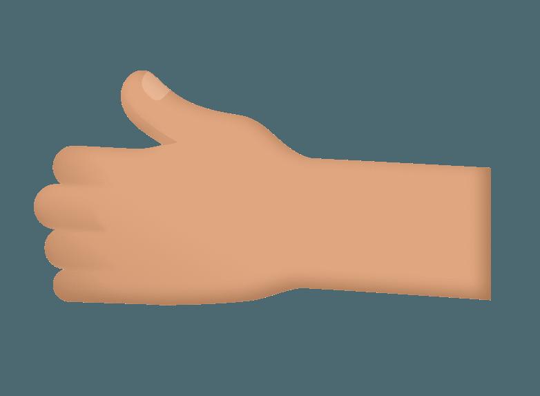 Germ dirty hand