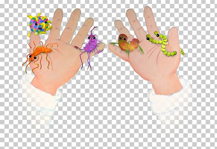 Child nail are not. Germs clipart thumb
