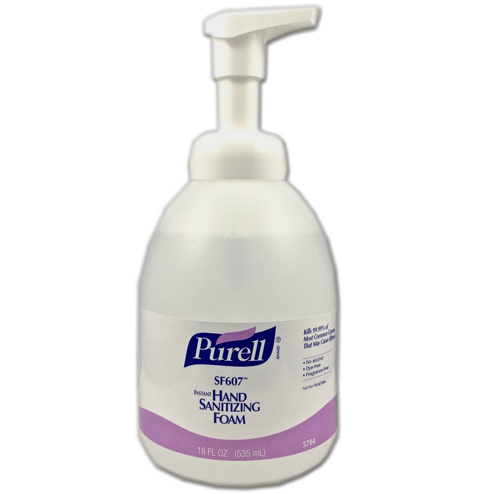 Germ clipart hand sanitizer. Purell alcohol free foam