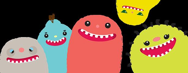 Facial expression cartoon smile. Germs clipart finger