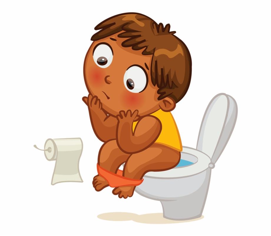 Clip art toilet clock. Germs clipart potty