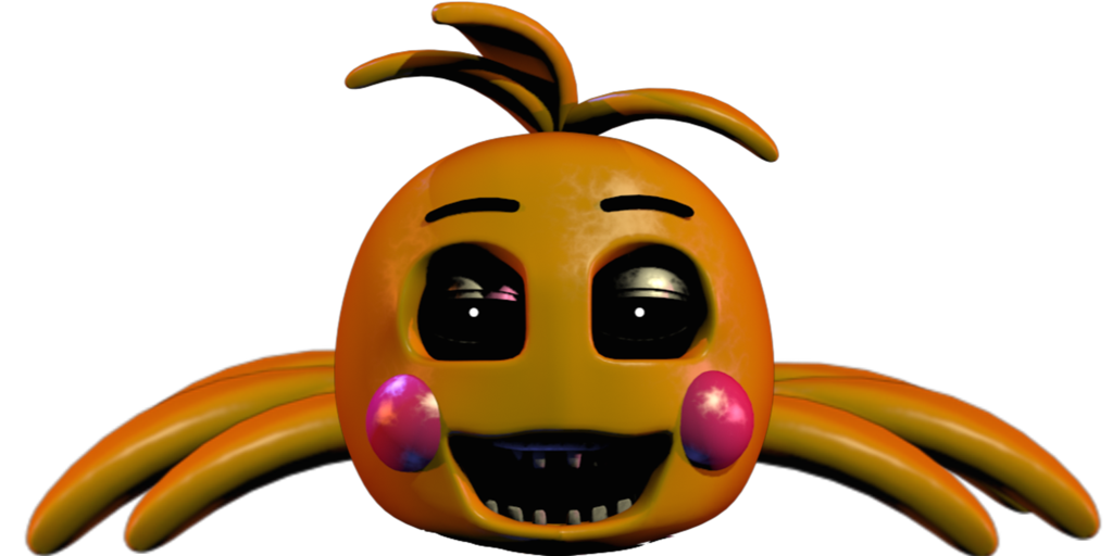 Toy chica spider by. Germ clipart scared