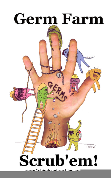Germ buster free images. Germs clipart thumb