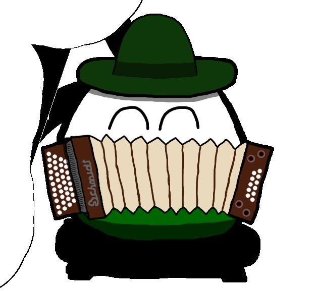 Styriaball polandball wiki fandom. German clipart accordion german