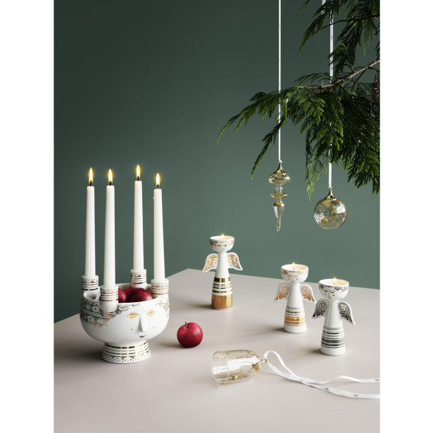 German clipart advent wreath. Candle holder vintage with