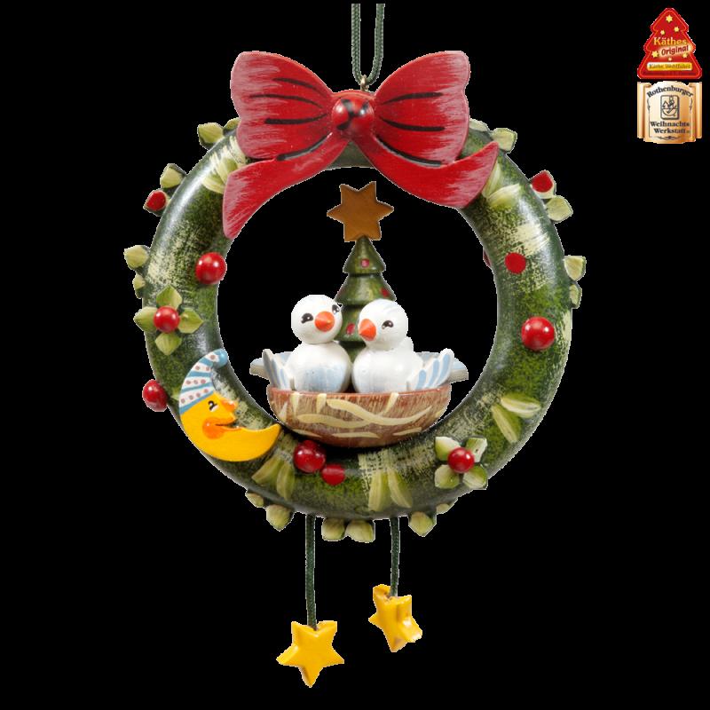 K the wohlfahrt pigeons. German clipart advent wreath