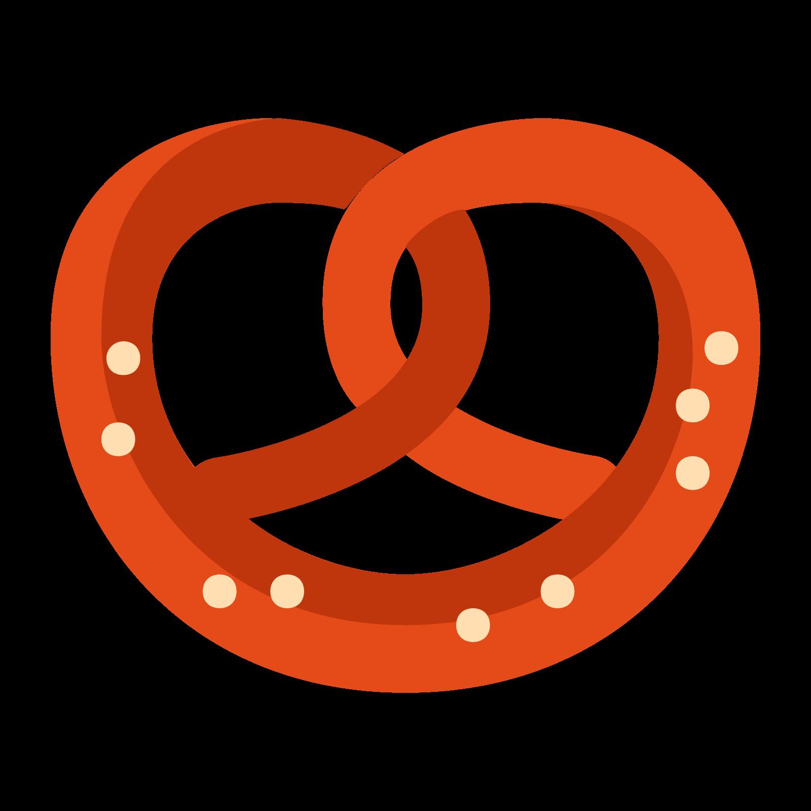 German clipart bavarian pretzel. Brezel icon free download